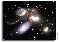 3-D View of Stephan's Quintet