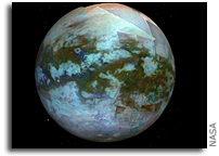 Piecing Together a Global Color Map of Titan, Saturn's Largest Moon