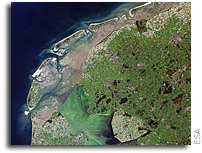 Image: Reclaimed Land in Afsluitdijk