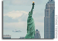 Photo: Space Shuttle Enterprise Arrives in New York 