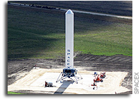 New Spaceport America Tenant SpaceX to Flight Test Grasshopper