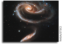 Image: UGC 1810 and UGC 1813: A 'Rose' Made of Galaxies