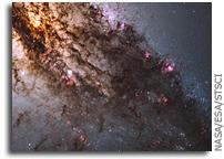 Image: Firestorm of Star Birth in Galaxy Centaurus A