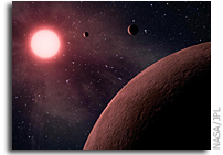 Artist's Concept: Compact Planetary System