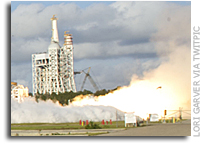 Aerojet's AJ26 Flight Engine Successfully Hot-Fired