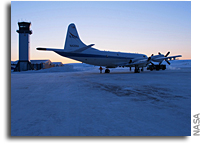 NASA's IceBridge 2012 Arctic Campaign Takes to the Skies