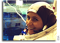 ESA astronaut Samantha Cristoforetti set for Space Station in 2014