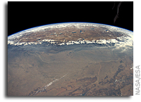 Image: the Himalayas and the Tibetan Plateau As Seen From the International Space Station