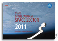CSA Releases 2011 State of the Canadian Space Sector Report