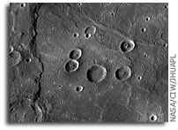NASA MESSENGER Image of Mercury: Interior of the Rembrandt Impact Basin