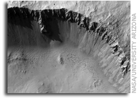 NASA MRO Image of Mars: Another Well-Preserved Impact Crater