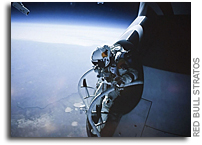 Felix Baumgartner Completes Test Flight Ahead of Freefall Record Attempt From The Edge of Space