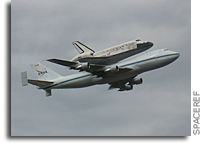 Space Shuttle Discovery: Old Friend, New Neighbor