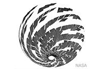 NASA Dawn Image of Vesta: Mosaic of Visible and Infrared Spectrometer Data