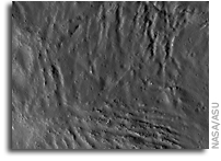 NASA LRO Image of the Moon: Fractures in Ohm's Melt