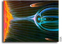 Earth's Magnetic Field Provides Vital Protection