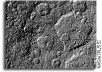 NASA Cassini Captures New Images of Rhea