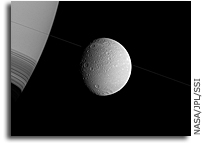 Image: Saturn and Dione