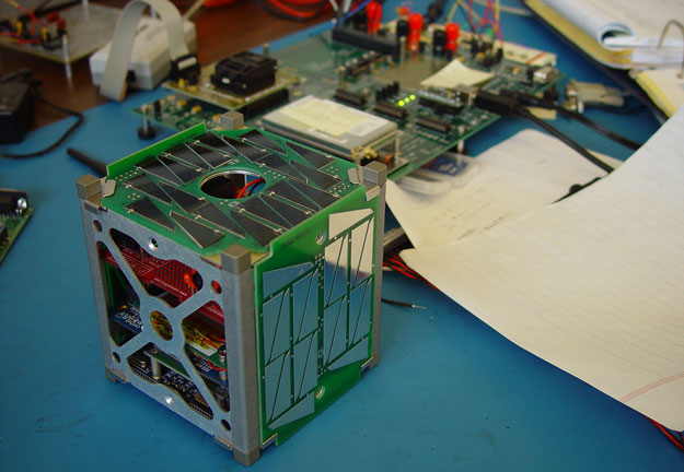 DARPA DMACE Challenge prototype CubeSat.