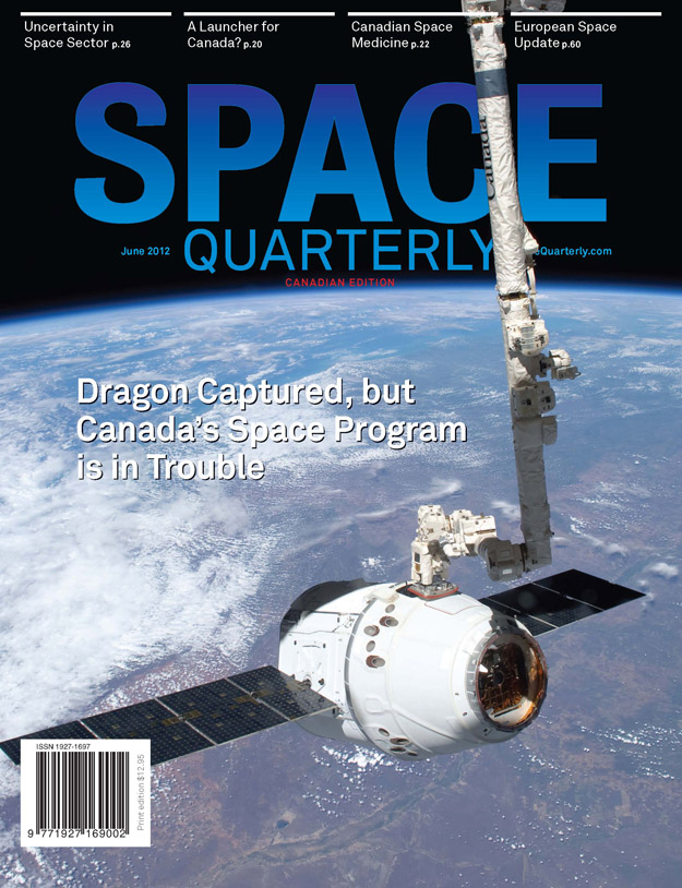 Space Quarterly June 2012 Canadian Edition Cover