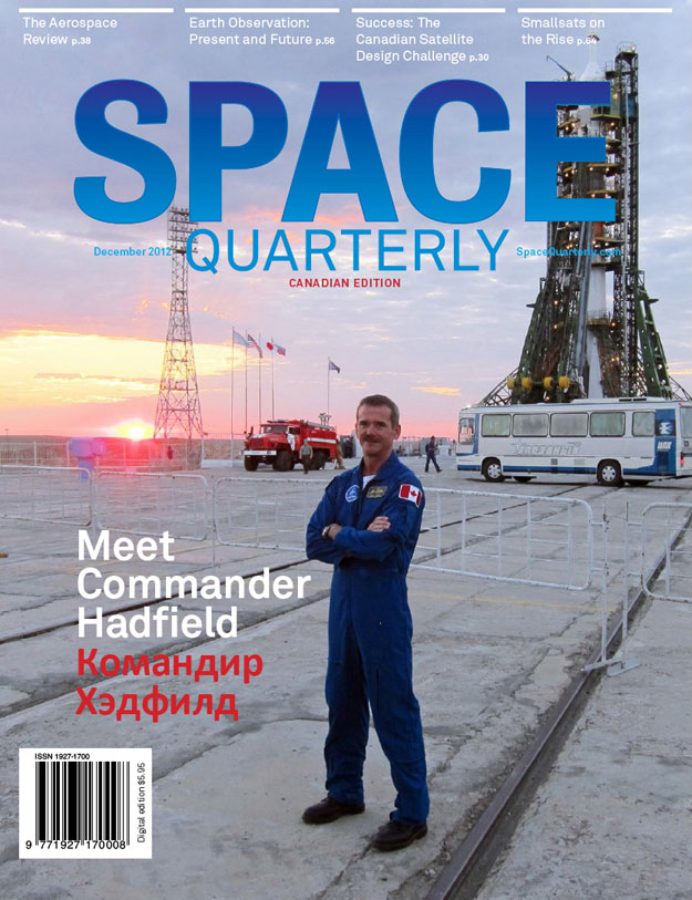 Space Quarterly Magazine - December 2012 Issue Available Now