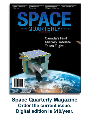 Subscribe to Space Quarterly magazine