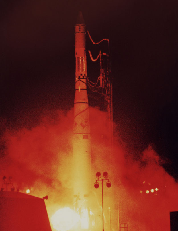 The launch of Alouette 1 September 29, 1962
