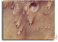 Mars Express Reveals Wind-blown Deposits on Mars
