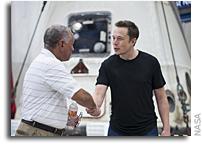 NASA Administrator Visits SpaceX