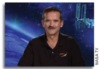 Chris Hadfield to Leave the Canadian Space Agency
