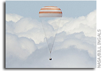 Stunning Photos of Soyuz TMA-03M Returning to Earth
