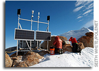 Network building: POLENET project in Antarctica completes GPS/seismic array