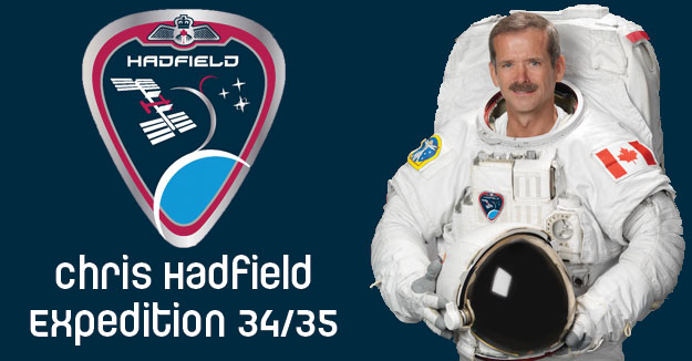 Canadian Space Agency astronaut Chris Hadfield Expedition 35 Commander