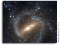 Classic Portrait of a Barred Spiral Galaxy: Hubble Observes NGC 1073