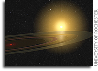 Scientists Discover a Saturn-like Ring System Eclipsing a Sun-like Star