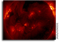 Large X-class Flare Erupts on the Sun on 27 January 2012