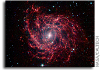 Image: Spider Web of Stars in Galaxy IC 342