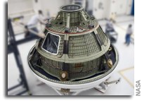 Orion Ground Test Vehicle Arrives at NASA Kennedy Space Center