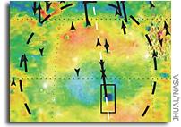 Messenger Provides New Look at Mercury's Landscape, Metallic Core, and Polar Shadows