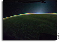 Photo: Looking Westward After Sunset From The International Space Station