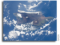 Photos: Hawaii As Seen From the International Space Station