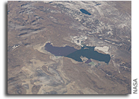 Image: Utah's Great Salt Lake As Seen From Space