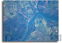 Image: Parana River Floodplain Along the Mato Grosso/Sao Paulo Border, Brazil