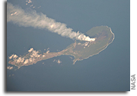 Photo: Pagan Island, Northern Marianas, As Seen From The International Space Station