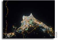 Photo: Kuwait City As Seen From Orbit