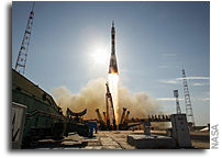 Expedition 31 Trio Blasts Off for International Space Station
