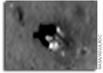 NASA LRO Image: Luna 24 Sitting On The Lunar Surface
