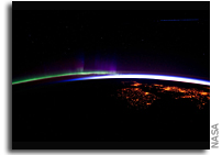 Image: Aurora Borealis As Seen From the Space Station