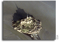 Image: Mont Saint Michel As Seen From Orbit