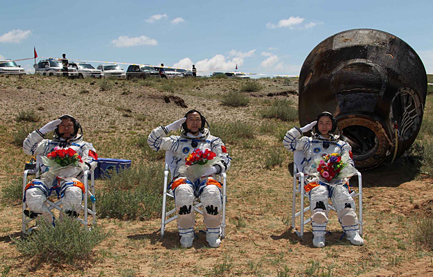China Completes First Space Manned Docking Mission ...